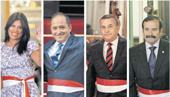 Carmen Omonte, Daniel Córdova, Daniel Urresti y Miguel Hidalgo tienen los primeros números en sus listas.