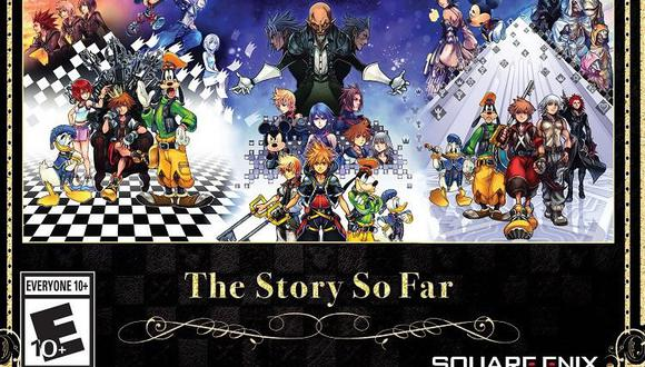 Kingdom Hearts –The Story So Far llegará a PS4 en zona americana el próximo 30 de octubre.