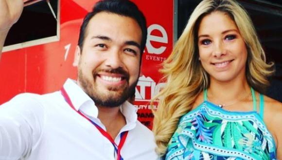 Álvaro y Sofía se casaron en setiembre de 2018, días antes de los comicios municipales, donde él participó y ganó en La Molina. (Foto: @sofiafrancoayllon)