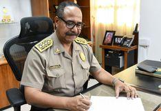 Generales de la Policía Nacional presentan declaración jurada de intereses