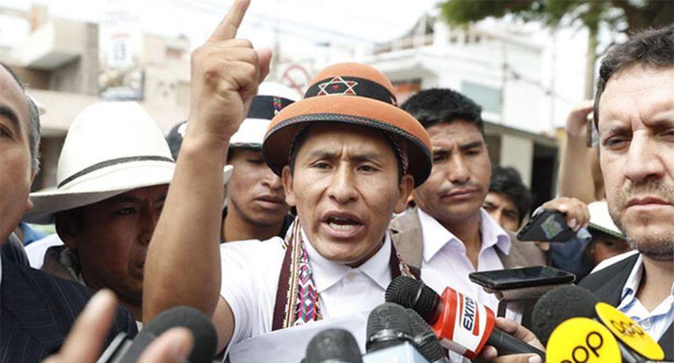 Gregorio Rojas indicó que el Gobierno se comprometió a apoyar la ley de amnistia. (Foto: GEC)