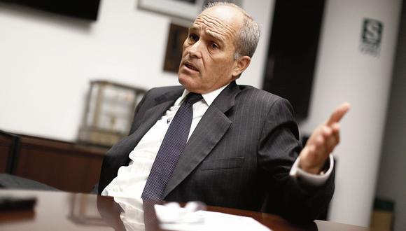 Roque Benavides. Presidente de la Confederación Nacional de Instituciones Empresariales Privadas - Confiep. (Perú21)