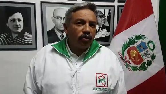 El candidato del PPC, Alberto Beingolea, dijo que el debate alternativo entre Reggiardo y Belmont no asustará al resto. (Foto: Facebook)