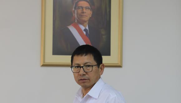Edmer Trujillo acudió a la fiscalía anticorrupción de Moquegua. (Foto: GEC)