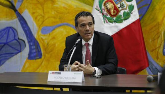 Sustentación. Ministro Segura defendió propuesta del Ejecutivo ante la Comisión de Presupuesto. (USI)