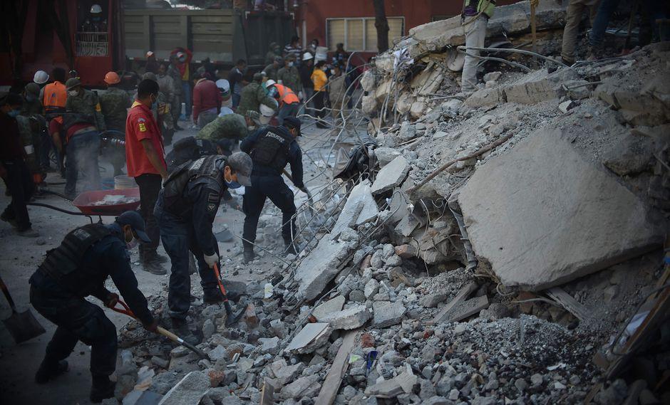 Terremoto en México (AFP)