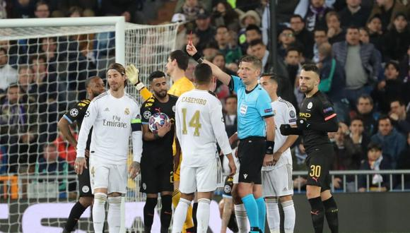 Real Madrid perdió 2-1 ante el Manchester City. (EFE)