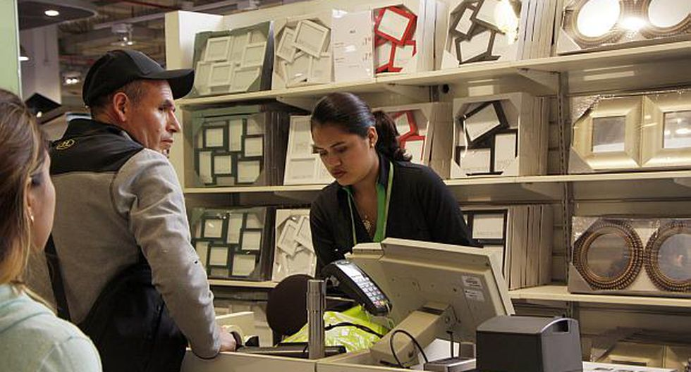 El Produce indicó que el subsector de tiendas por departamento y supermercados registró en mayo un avance de 14.1%.(Foto: USI)