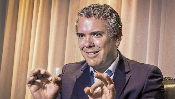 Iván Duque, candidato uribista. (USI)