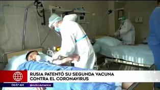 Rusia patenta segunda vacuna contra el COVID-19