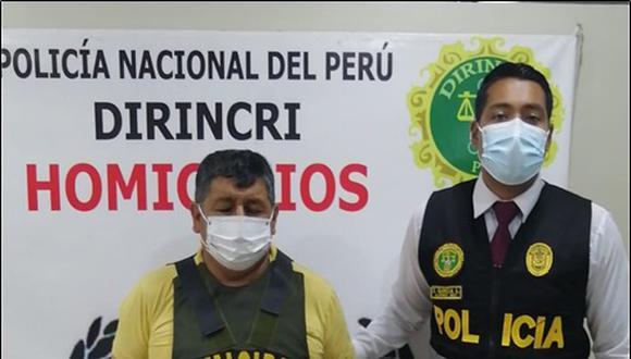El expolicía Abelardo Aire Liberato fue capturado en Puente Piedra.