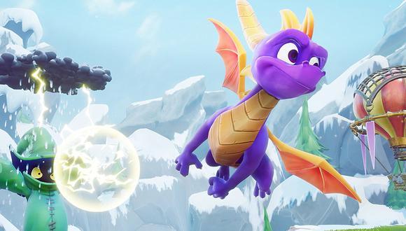Activision ha anunciado el día de hoy el regreso de Spyro para PS4 y Xbox One.
