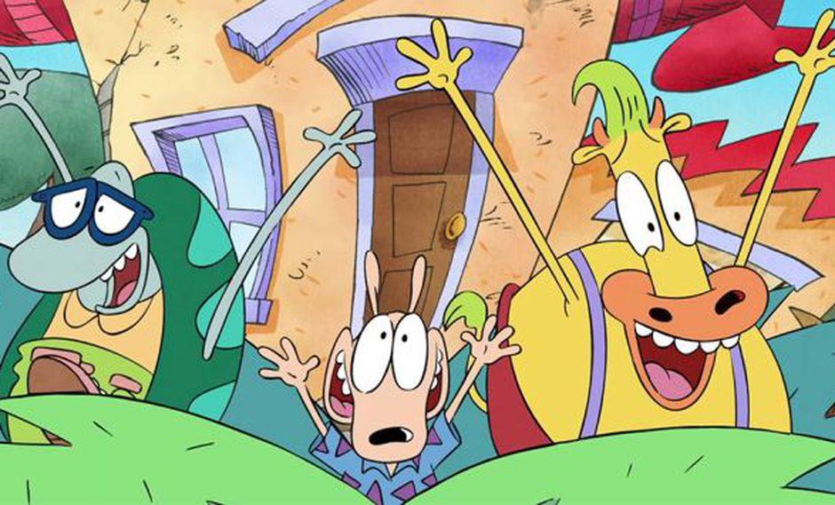 Este es el primer adelanto de 'La Vida Moderna de Rocko' que estabas esperando. (Nickelodeon)