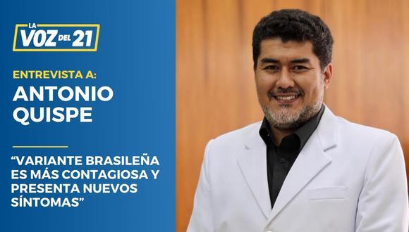 Antonio Quispe Variante Brasileña