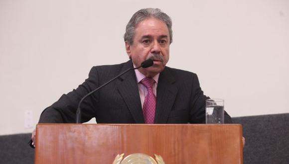 Fernando Rojas afirmó que el pedido de la reunión fue del gobierno francés. (Andina)