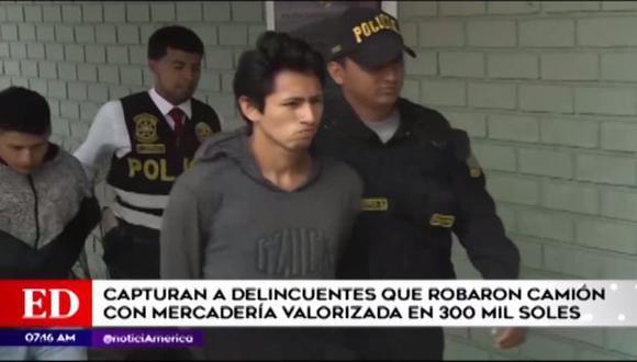 Fueron capturados en su escondite. (Foto: Captura/América Noticias)