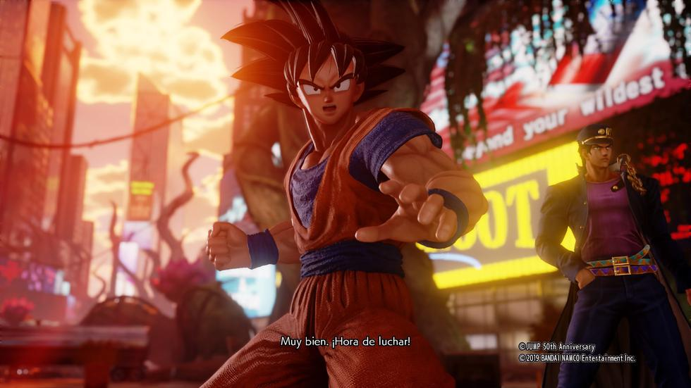 Bandai Namco lanzó 'Jump Force' en formato multiplataforma, PS4, Xbox One y PC.