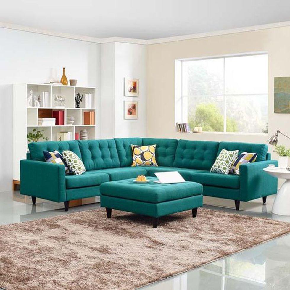 Busca el sillón adecuado para tu sala y evitarás que se vea recargada. (Foto: Pinterest Emfurn)
