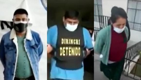 La Policía Nacional capturó a personas que registraban orden de captura por diversos delitos durante la segunda vuelta electoral. (Captura: América Noticias)