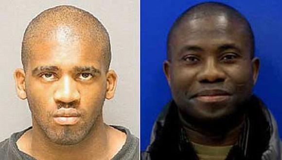 Kynua (izq.) es oriundo de Kenia, mientras que su víctima era de Ghana. (Internet)