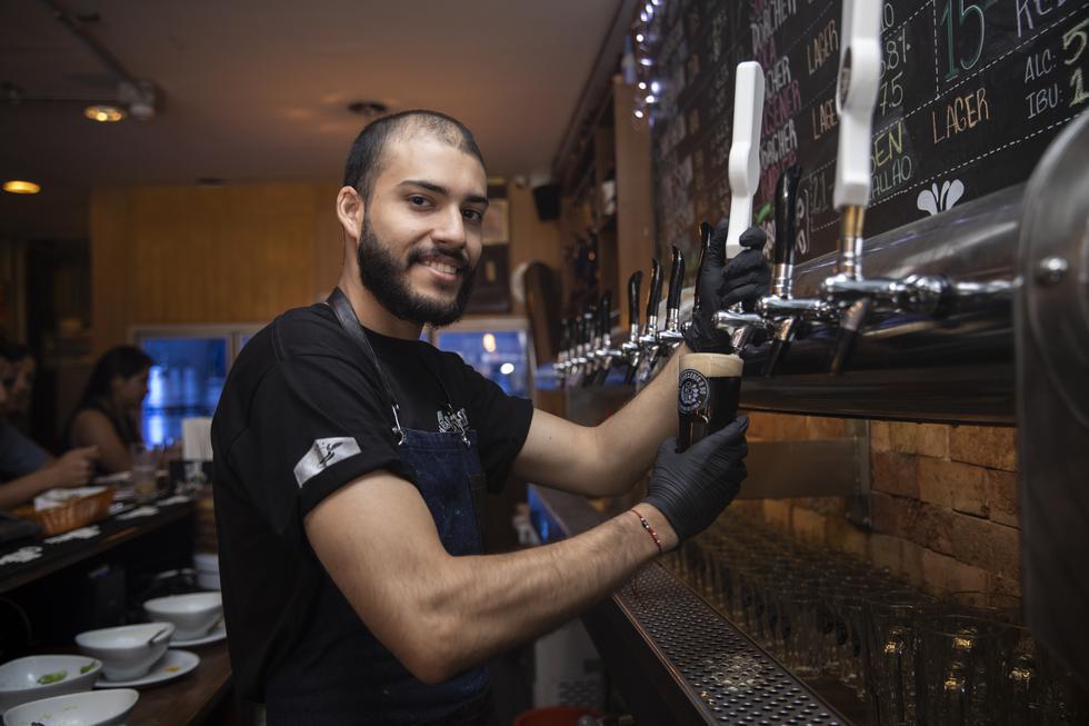 A CRECER. La Cervecería proyecta instalar este modelo de bares en otras partes del país.. (José Rojas)