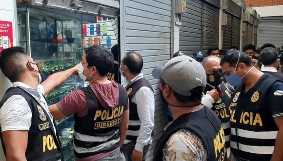 La diligencia estuvo a cargo de agentes de la División de Investigación de Delitos contra el Estado (Foto: Policía Nacional)