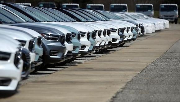 """Como parte de la guerra comercial, China habíaaumentado los aranceles a los vehículos y piezas de autos """"made in USA"""" del 15% al 40%. (Foto: AFP)"""
