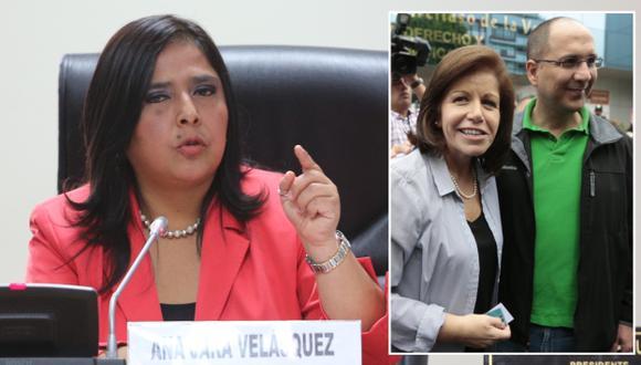 Jara criticó apoyo de Lourdes Flores a Pablo Secada. (USI)