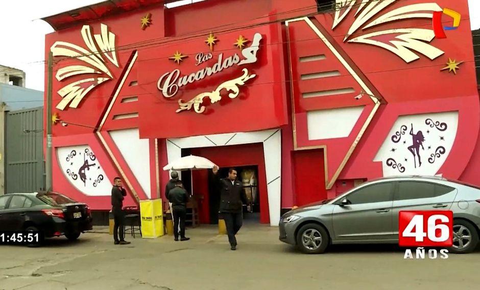 El night club Las Cucardas fue asaltado por unos delincuentes. (24 Horas)