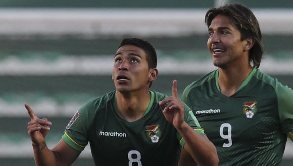 Marcelo Martins es el capitán de Bolivia y goleador de las Eliminatorias. (Foto: AFP)