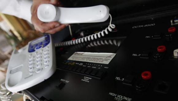 Chuponeo telefónico. Con este aparato se realiza la interceptación telefónica. (USI)
