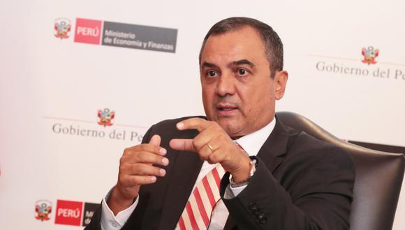 Carlos Oliva, ministro de Economía y Finanzas. (Foto: GEC)