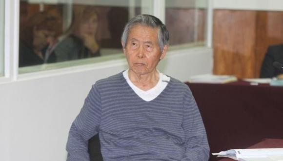 El ex jefe de Estado Alberto Fujimori cumple su condena en el penal de Barbadillo. (USI)