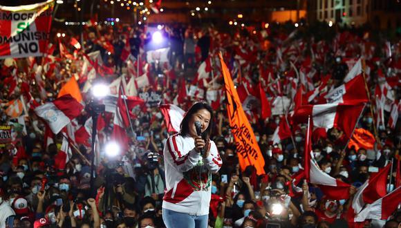 Keiko Fujimori presentó un habeas data contra la ONPE (GEC).