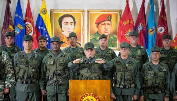 Los dichos del ministro de Defensa, Vladimir Padrino, son un respaldo al gobernante Nicolás Maduro. (Foto: EFE)
