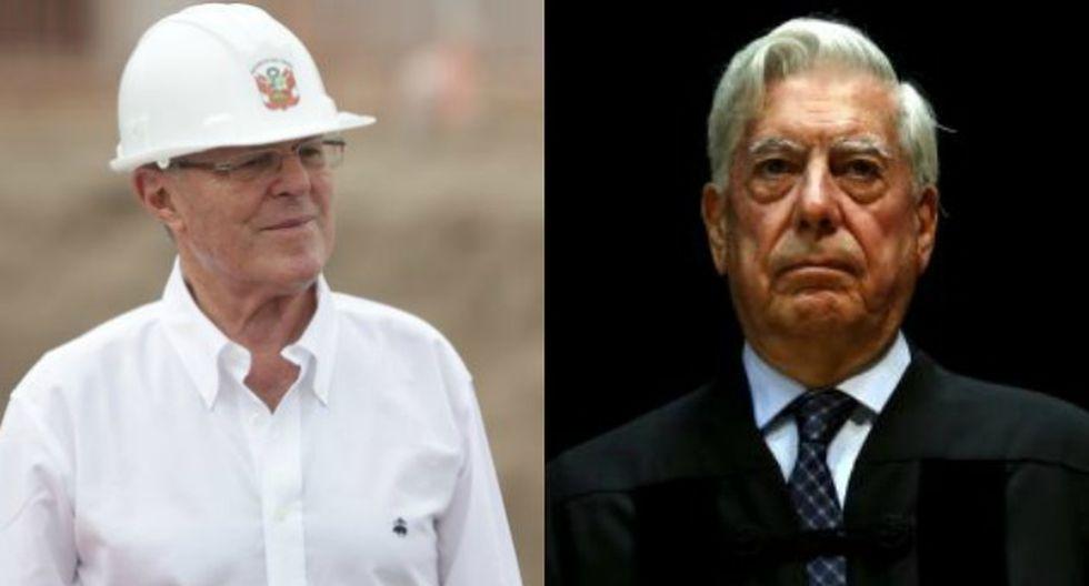 PPK recibió la visita de Mario Vargas Llosa en su domicilio de San Isidro. (Perú21)