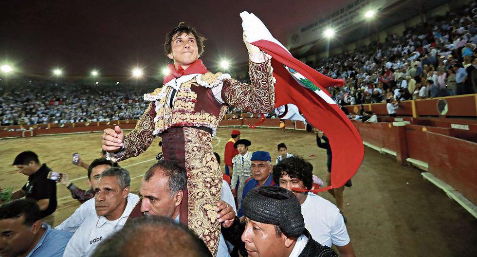 ACHO LO VERÁ TRIUNFAR. Este domingo Roca Rey vuelve a su plaza. | Perú21