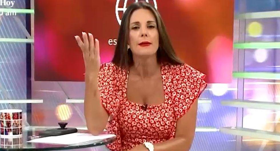 Conductora de espectáculos de América Televisión destacó que la modelo apueste por estudiar Marketing. (Captura/AméricaTV)
