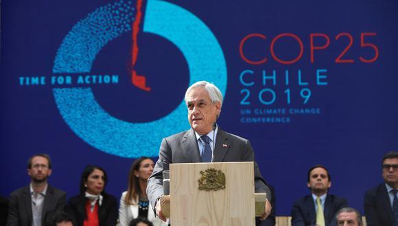 Piñera participará en actividades económicas, comerciales y culturales dentro del segundo Foro de las Nuevas Rutas de la Seda. (Foto: EFE)