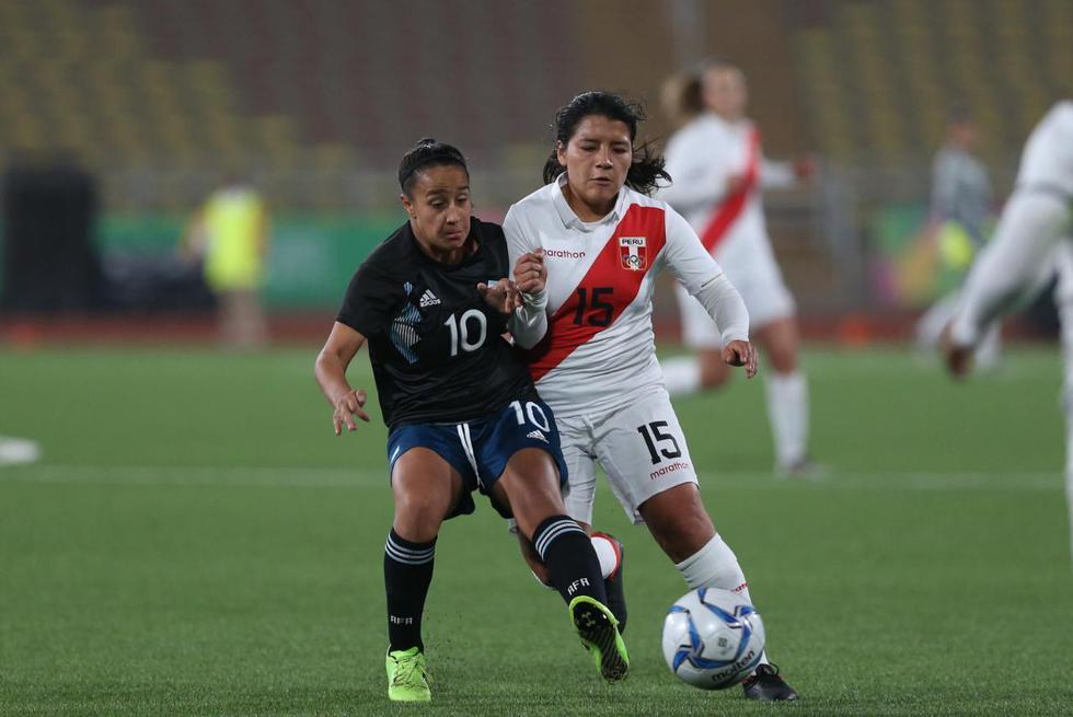 Selección femenina peruana de fútbol se mide contra Argentina por los Juegos Panamericanos Lima 2019. (Violeta Ayasta/GEC)