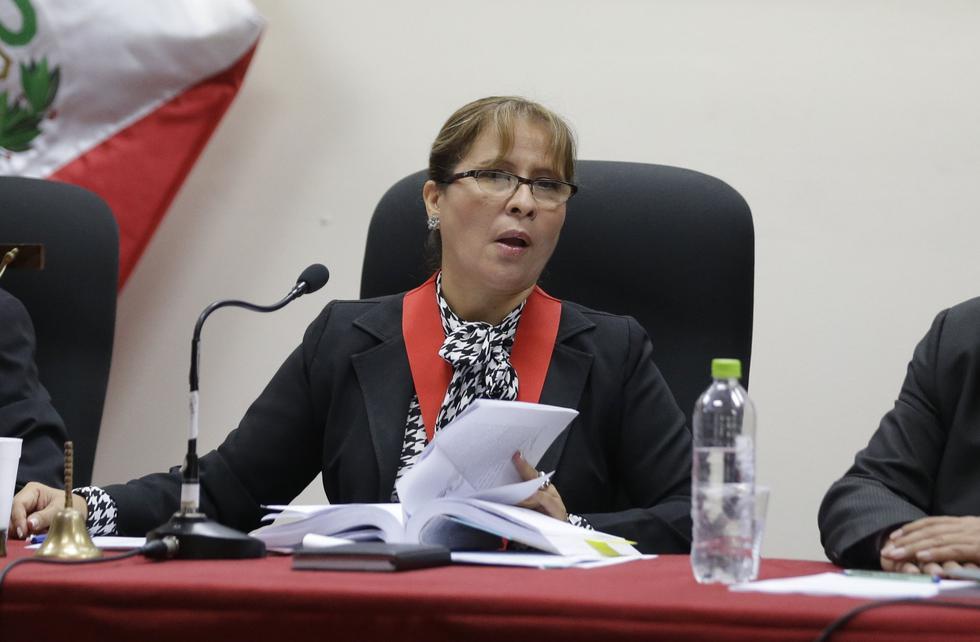 La magistrada Miluska Cano fue denunciada por violación y actos contra el pudor, pero ella lo niega todo. (USI)