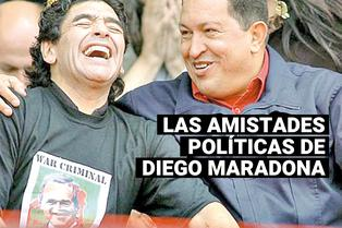 Diego Maradona y su polémica amistad con Fidel Castro, Hugo Chávez y Nicolás Maduro