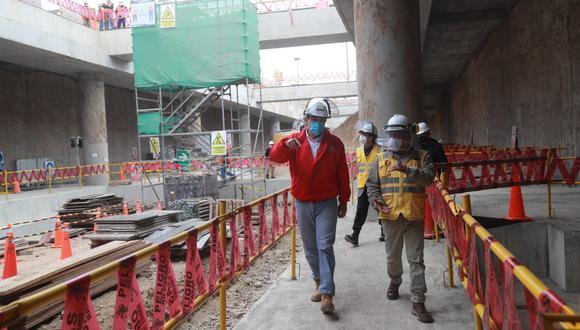 La ATU informó que la Línea 2 del Metro de Lima y Callao permitirá transportar a más de un millón de personas desde el distrito de Ate hacia el Callao en solo 45 minutos.. (Foto: MTC)