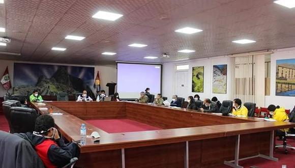 El Comando COVID-19 del Cusco adoptó hoy la medida en una reunión extraordinaria. (Foto: Dirección Regional de Salud)