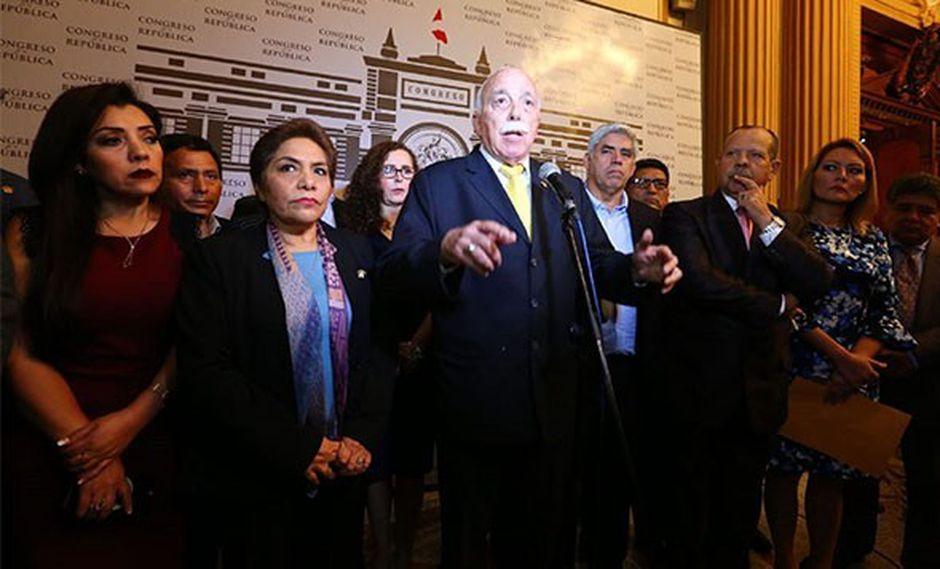 Fuerza Popular se ha mostrado en contra de la propuesta del Ejecutivo para adelantar elecciones al 2020. (Foto: Archivo)