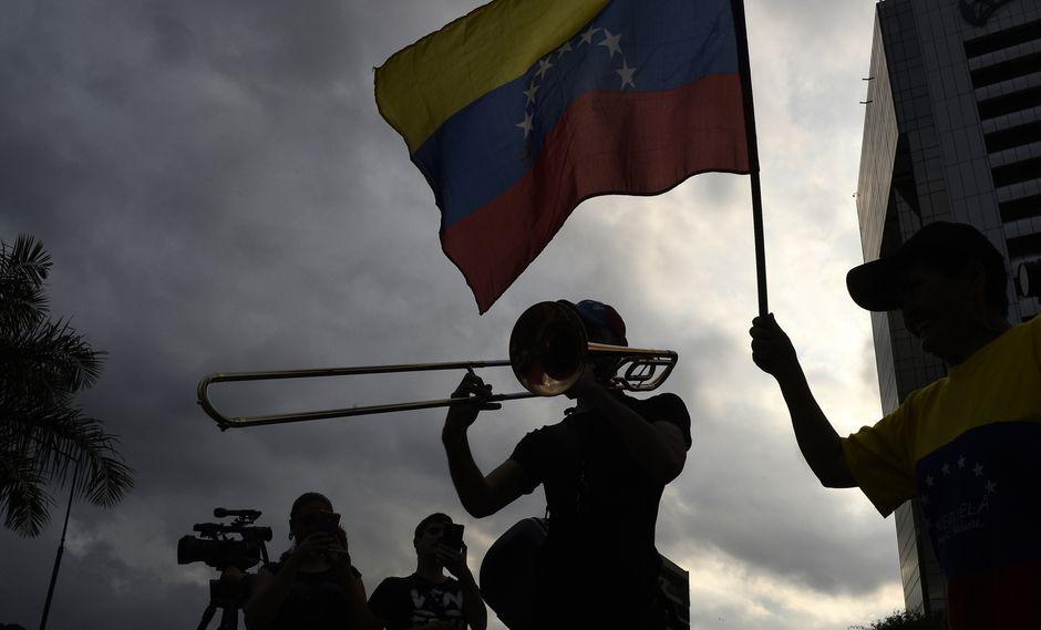 Las protestas continúan en Venezuela. (Foto: AFP)