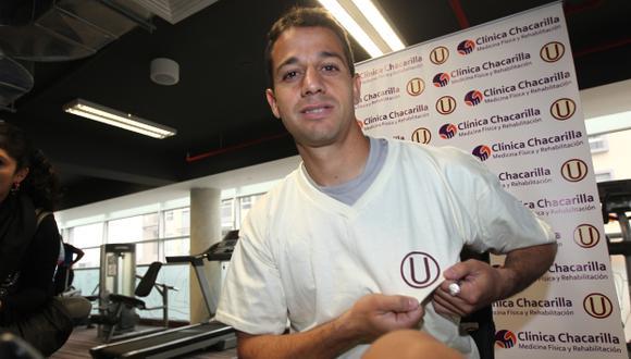 Guastavino llega con gol.  (USI)