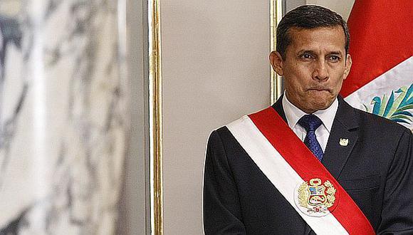 Ollanta Humala enfrenta su peor crisis política desde que asumió el poder. (USI)
