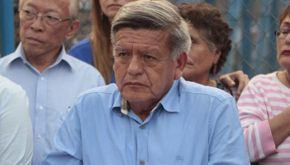 César Acuña continúa en el ojo de la tormenta. (Roberto Cáceres)