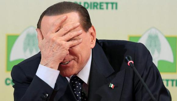 CRISIS A LA VISTA. Nueva condena a Silvio Berlusconi pondría en peligro la coalición de Gobierno. (EFE)